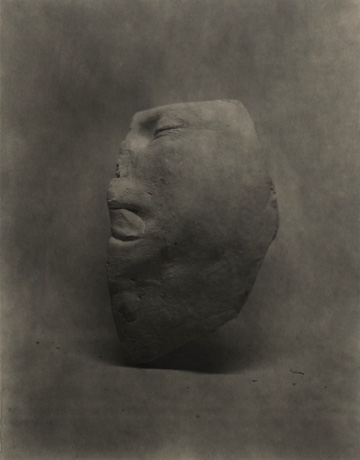 life cast self portrait photograph by photographer julian flynn