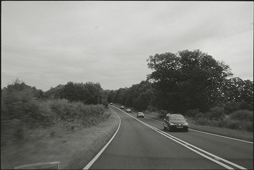 road photograph, north yorkshire, august 2007, photograph by photographer julian flynn